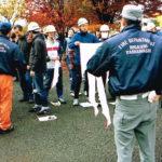 防災避難訓練